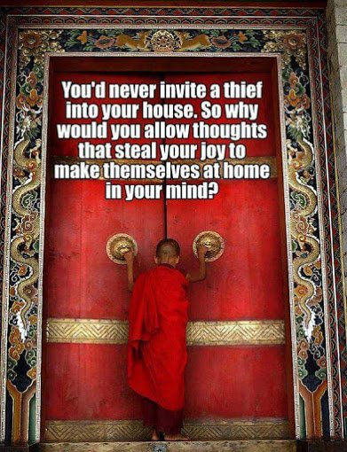 dont iinvite negative thoughts