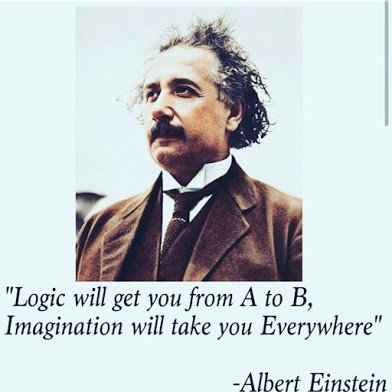exinstein on logic and imagination