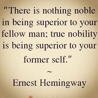 hemingway on nobility