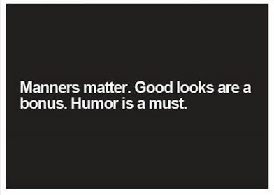 humour is must