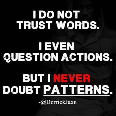 i never doubt patterns