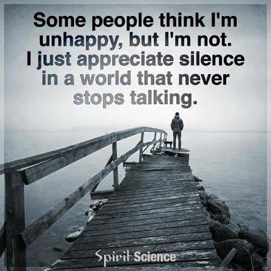 im just silent