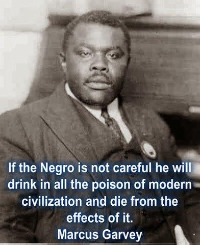 marcus garvey on black and civilisation