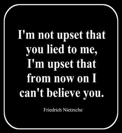 nietsche on lying