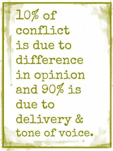 on conflict