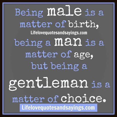 on male