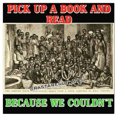 pick up a book and read