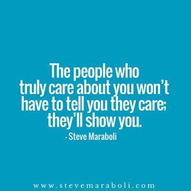 ppl that care show it
