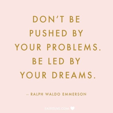 ralph emerson on being led by your dreams