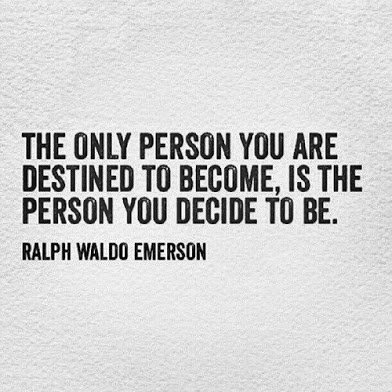 ralph emerson on whom you will become