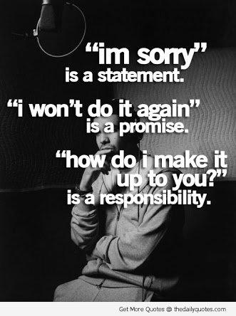 responsibily versus promise