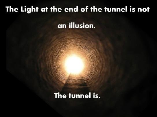 tunnel and illusion