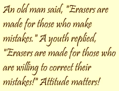 youth and elder on eraser