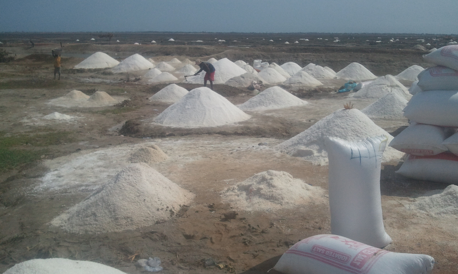 Sitting on salt wealth and living in poverty