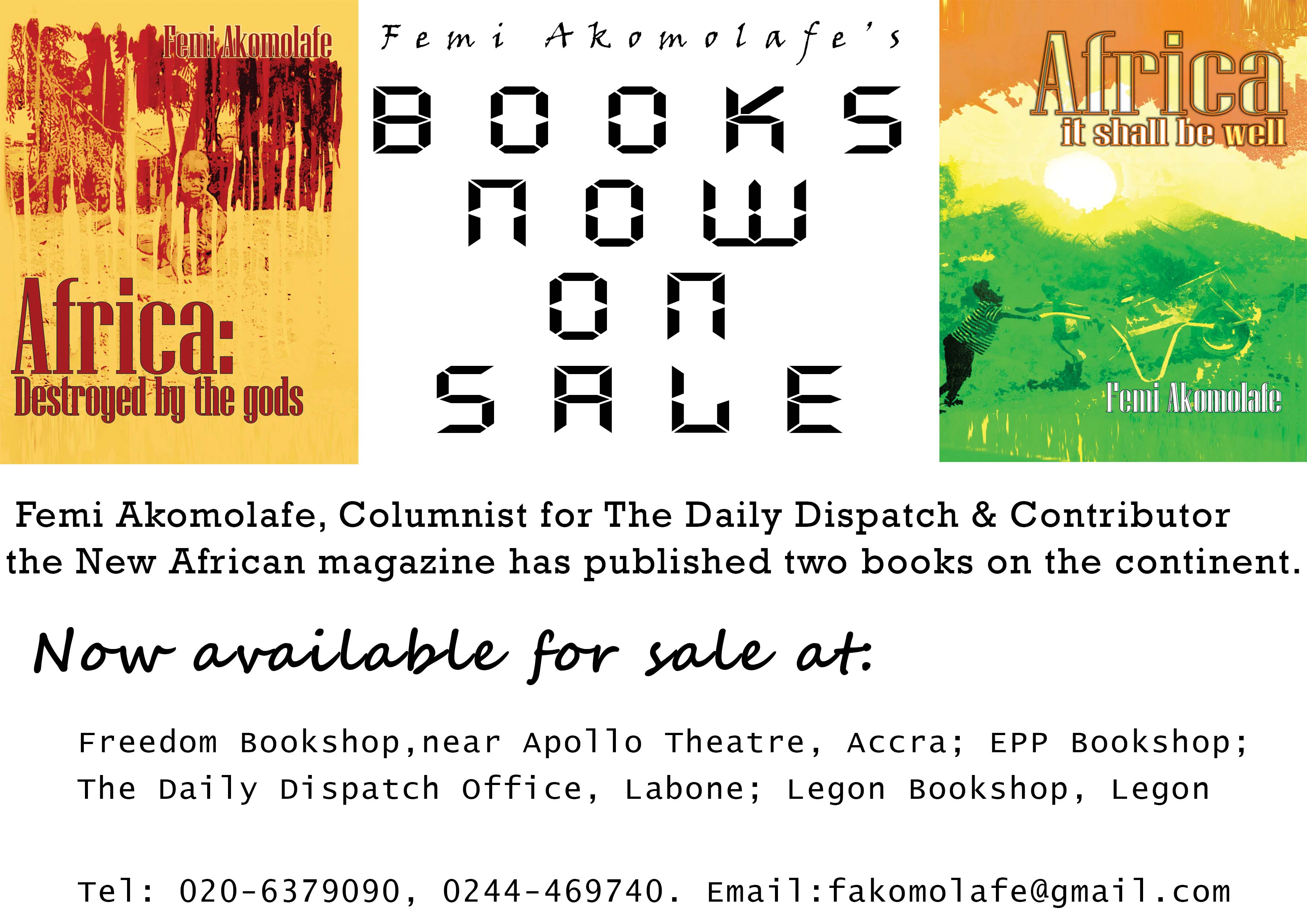 Africa: destroyed by the gods – Introduction in PDF